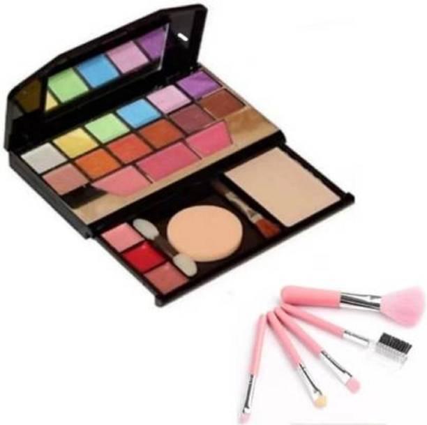Uchiha TYA 5024 Makeup Kit & 5pc Makeup Brush Set