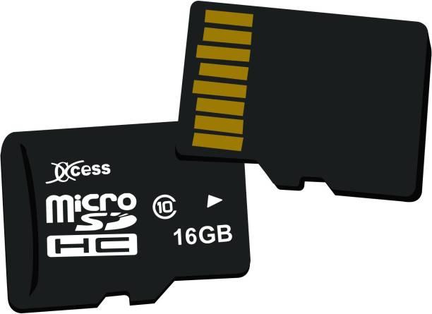 XCCESS 16GB Combo 16 GB MicroSD Card Class 10 80 MB/s  Memory Card