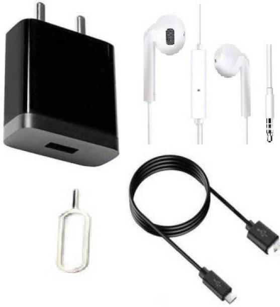 Prifakt Wall Charger Accessory Combo for Xiaomi Redmi 6 Pro, Xiaomi Redmi Note 4, Xiaomi Redmi 4A, Xiaomi Redmi 3S Prime, Xiaomi Redmi Note 3, Xiaomi Mi Max Prime, Xiaomi Mi 4i, Xiaomi Redmi 1S, Xiaomi Mi3, Xiaomi Redmi Note Charger
