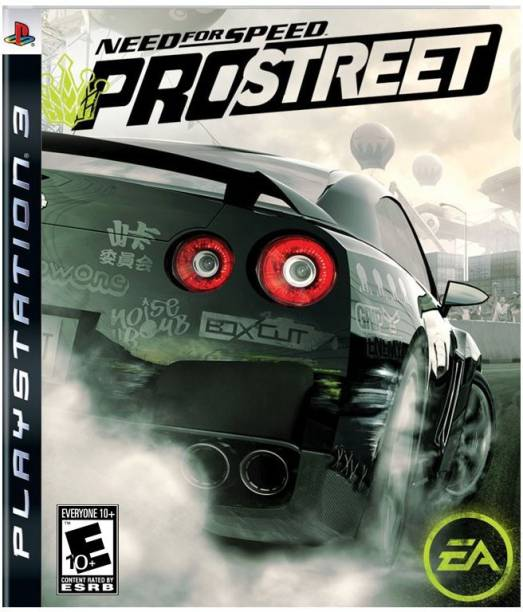 Need for Speed: ProStreet PS3 (2007)