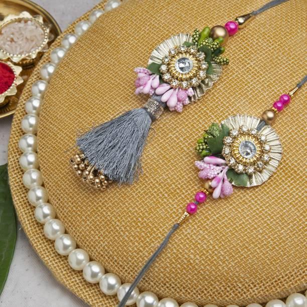 Flipkart SmartBuy Bhaiya Bhabhi Chawal Roli Pack, Lumba, Rakhi  Set