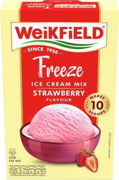 WeiKFiELD Freeze Icecream Mix Powder Strawberry 100 g