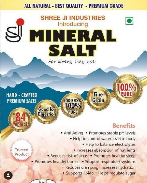 Shreeji Mineral Himalayan Pink Salt for Daily Use, 500g Himalayan Pink Salt