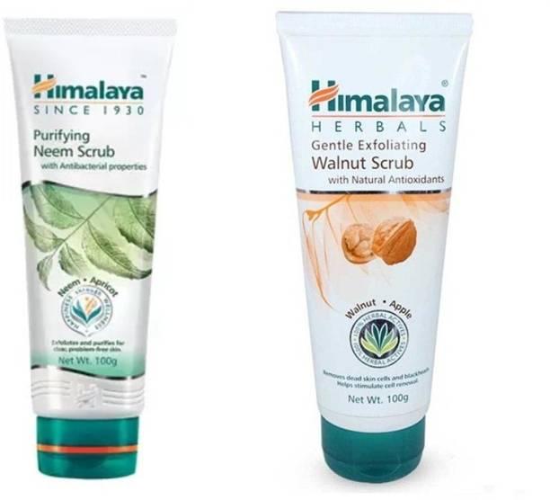 HIMALAYA gentle exfoliating walnut / purifying neem scrub scrub 100 each Scrub