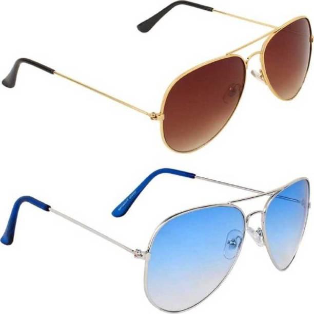 neel work Aviator Sunglasses