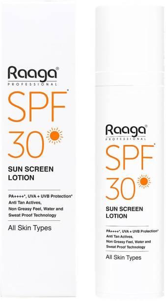 Raaga SPF 30 Sun Screen Lotion - SPF 30 PA++++