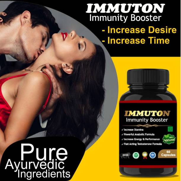 sankalp therapeutics Immuton Capsules For increasing Sex power, time and Stamina For both Male & female