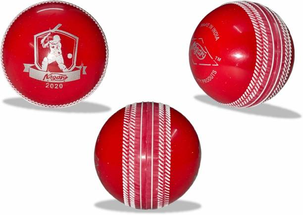 Parth Electronics Synthetic Wind Ball 135gm/Pcs Heavy Pack of 3 Cricket Synthetic Ball