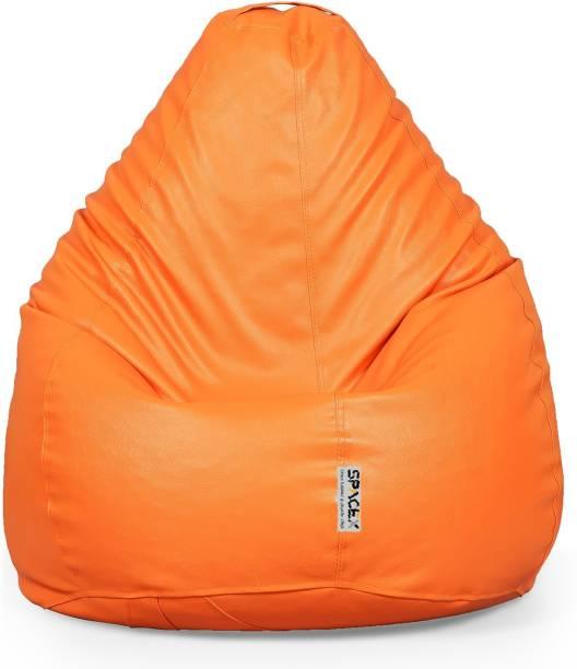 SPACEX XXL Elega Teardrop Bean Bag  With Bean Filling
