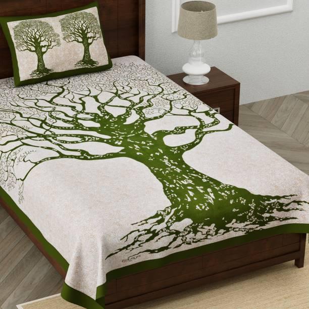 Homeline 150 TC Cotton Single Printed Bedsheet