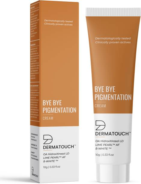 Dermatouch Bye Bye Pigmentation Cream for Pigmentation Removal Cream || Anti Pigmentation Cream for Women with Lime Pearl & B-White - 10G