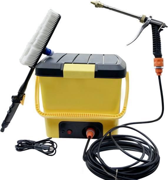 NIRVA 12V Electric Car Washer Plastic Head Portable Car Washer 15L Car Wash Machine Car Wash Car / Home Use Pressure Washer