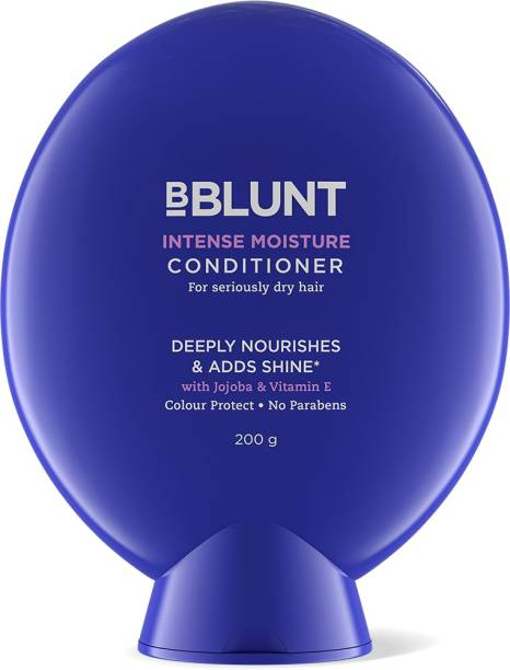BBlunt Intense Moisture Conditioner for Seriously Dry Hair, with Jojoba and Vitamin E. No Parabens, SLS. 200g