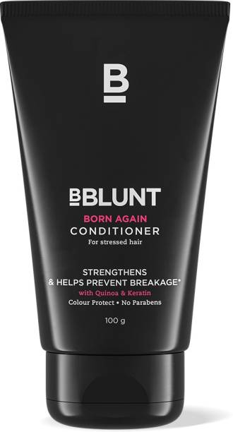 BBlunt Born Again Conditioner - for Stressed hair, with Quinoa and Keratin. No Parabens, SLS. 100gm