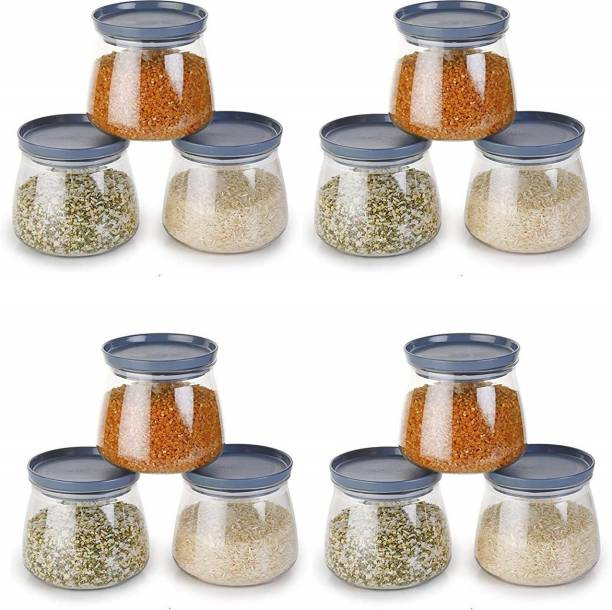 Flipkart SmartBuy Matuki Design Containers for Kitchen Storage Plastic, Unbreakable Airtight  - 800 ml Plastic Grocery Container