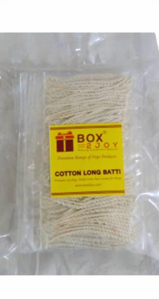 Box2joy Twisted Long Cotton Wicks Cotton Wick
