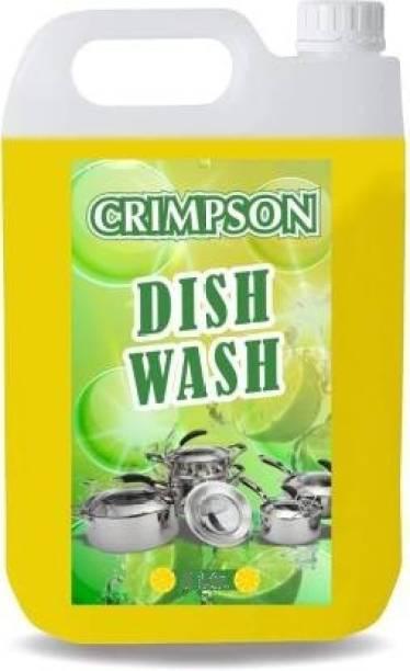 crimpson Advance Dishwash Gel Dish Cleaning Gel (Lemon, 3 L) Dishwash Bar