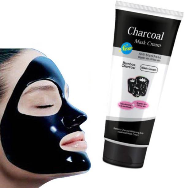 Aryshaa Most Popular Charcoal Oil Control Anti-Acne Deep Cleansing Blackhead Remover, Peel Off Mask for man & Woman face mask cream