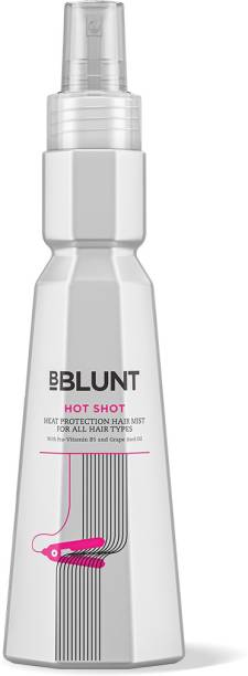 BBlunt Hot Shot - Heat Protection Hair Mist, with Grape Seed Oil. No Parabens, Sulphates, SLS. 150ml Hair Mist