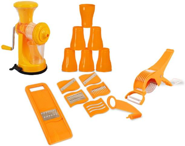 Triones TRCJC-001 Juicer-Combo Orange Kitchen Tool Set