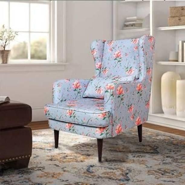 Wood Rylen Foam Living Room Chair