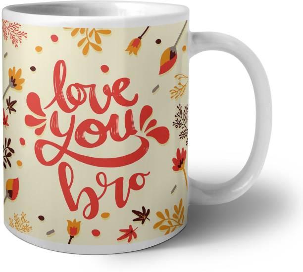 Phirki Studio Love You Bro Ceramic Coffee Mug