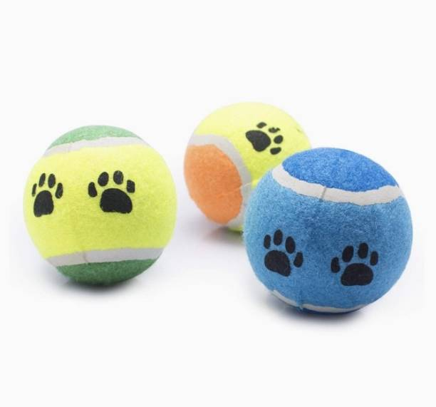 KUTKUT Silicone, Rubber Ball, Fetch Toy For Dog
