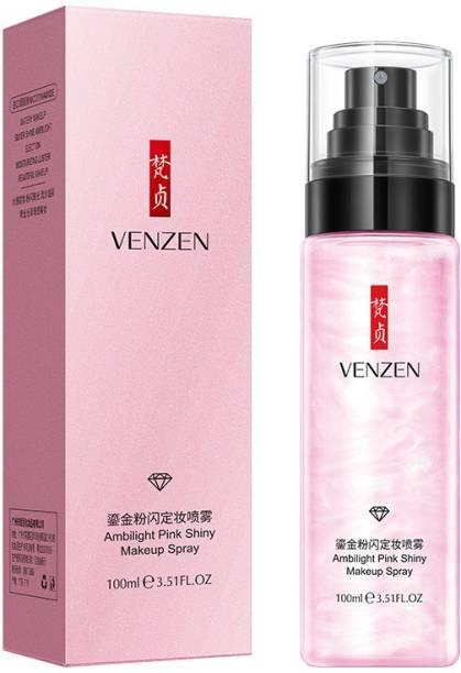 Venzen Make up Fixer Spray Long Lasting Waterproof Makeup setting Spray Primer  - 100 ml