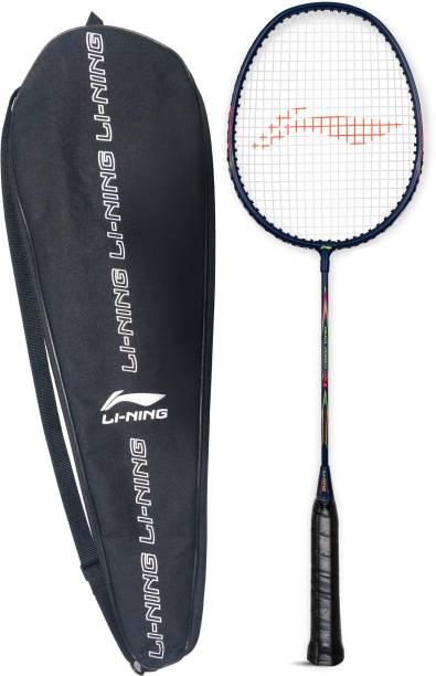 LI-NING Mega Power 8 Strung Badminton Racquet (Pack of: 1, 95 g) Blue Strung Badminton Racquet