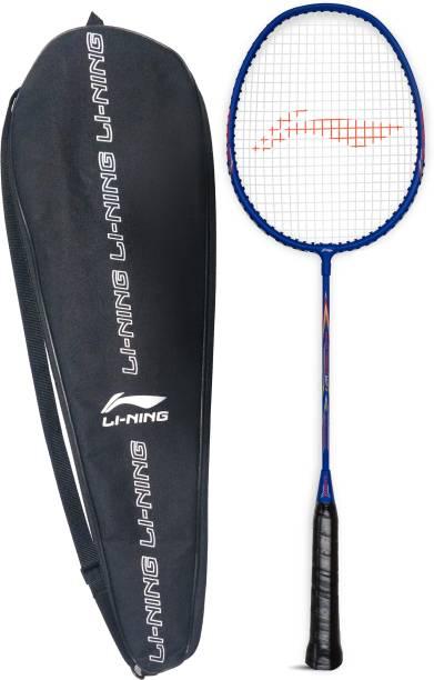 LI-NING Mega Power 7 Blue/Orange Strung Badminton Racquet (Pack of: 1, 95 g) Blue Strung Badminton Racquet