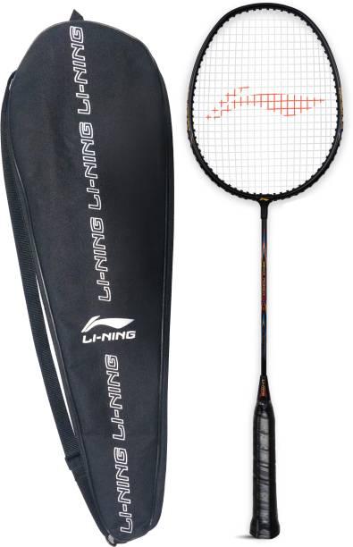 LI-NING Mega Power 9 Strung Badminton Racquet (Pack of: 1, 95 g) White, Black Strung Badminton Racquet