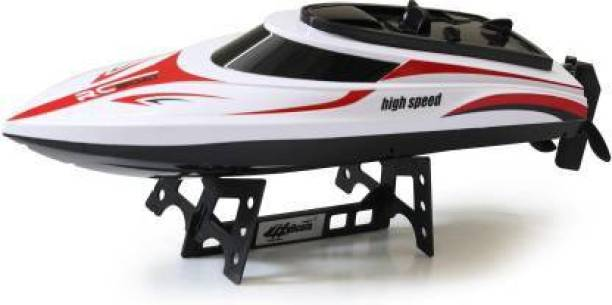 Radha Kripa Rage-X 2.4G Wireless high speed Remote Control RC Racing Boat with Flip in Water Function