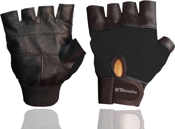 Wearslim Workout Gloves, Gym Gloves for Men Women Weight Lifting Fingerless Gloves Gym & Fitness Gloves