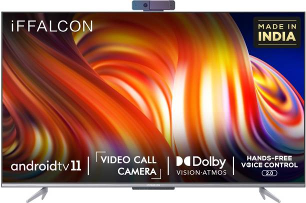 iFFALCON by TCL K72 139 cm (55 inch) Ultra HD (4K) LED Smart Android TV with With Hands Free Voice Control and Video Call Camera