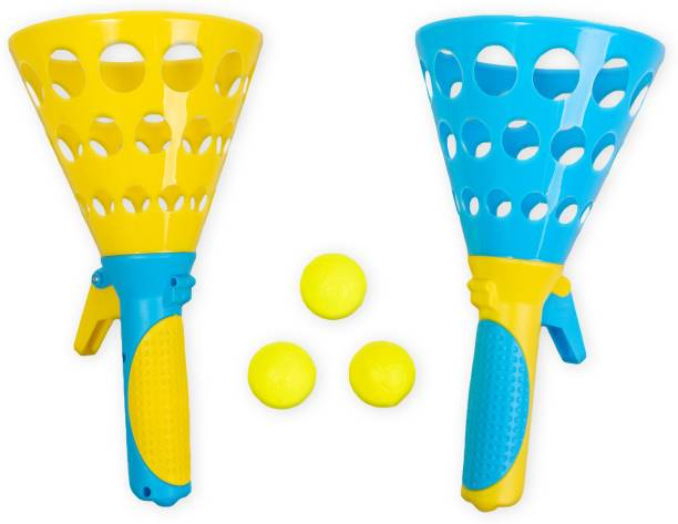 RATNA'S Pop & Catch Ball Throw Catch game for kids Throwball