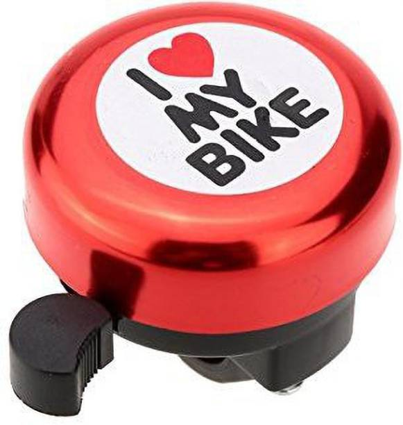 THE MORNING PLAY I Love My Bike Red Cycle Bell