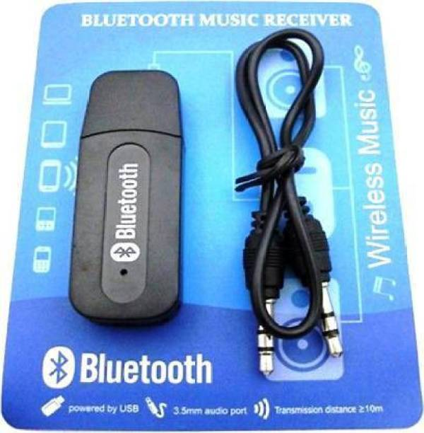 M V COLLECTION v4.0 Car Bluetooth Device with Audio Receiver, Adapter Dongle