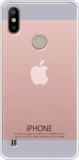 Goldista Back Cover for Tecno Camon iAce 2X / KB2J
