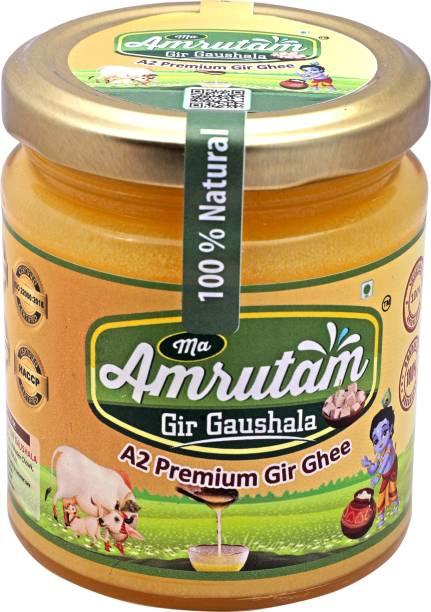 Ma Amrutam Gir Gaushala Ghee 200 ML Ghee 200 g Glass Bottle