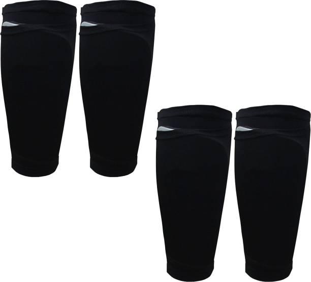 Bloomun Shin Guard Holder Protective Sleeves with Pocket Football Shin Guard