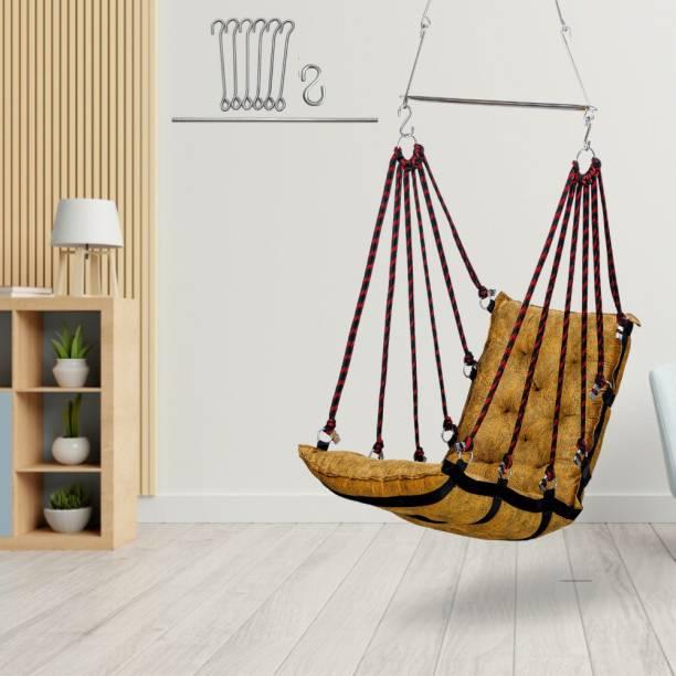 Swingzy Soft Leather Velvet Golden HM Swing Cotton Small Swing