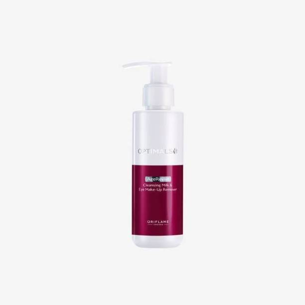 Oriflame Sweden Optimals AGE REVIVE cleansing Milk & Eye Make-up Remover(100% genuine )by laxmi beauty products Makeup Remover