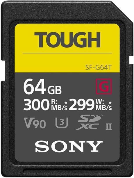 SONY Tough 64 GB SDXC Class 2 300 MB/s  Memory Card