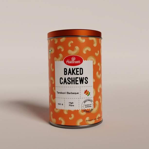 Haldiram's Cashew Baked Tandoori Barbeque 150 g X 1 Tin Cashews