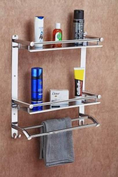 SHIRU TECHNOLOGIES Stainless Steel Wall Shelf