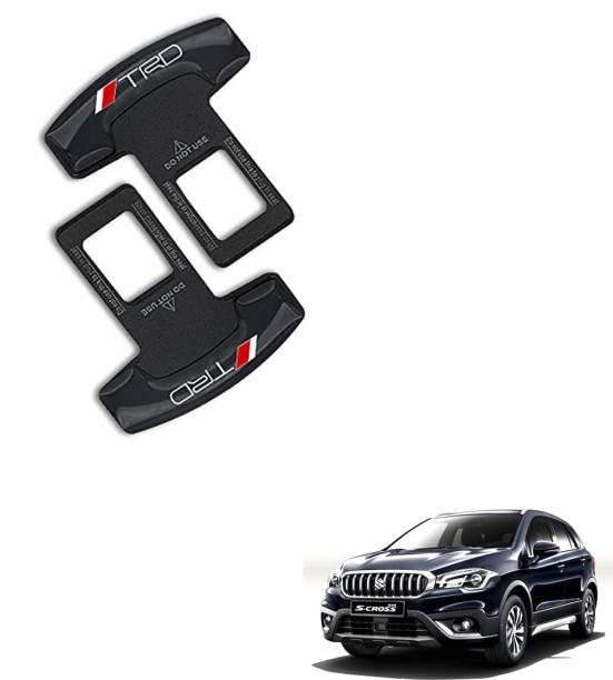 SEMAPHORE Car Seat Belt Clip TRD Design for Maruti Vitara for Maruti S-Cross Seat Belt Stopper Clip