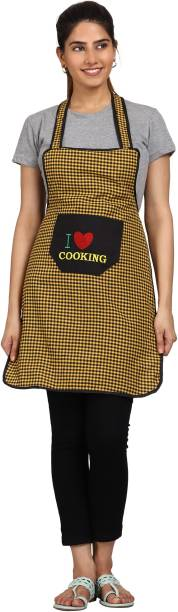 JMI Cotton Chef's Apron - Free Size