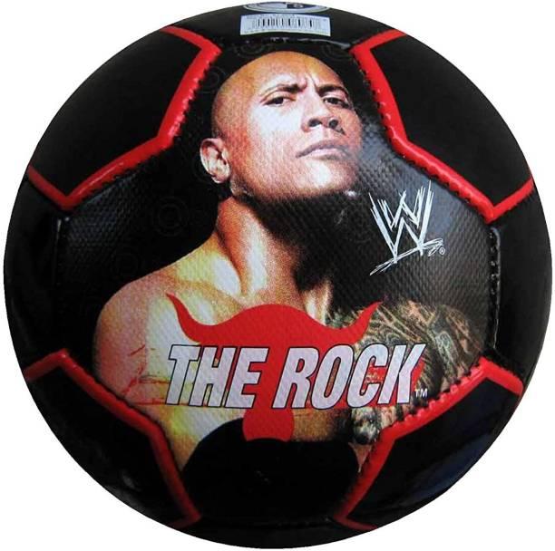 Rage-X The Rock Soccer Ball, (Black) Football - Size: 5