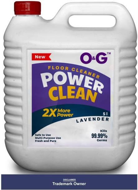 O&G Disinfectant Floor Cleaner Lavender Lavener