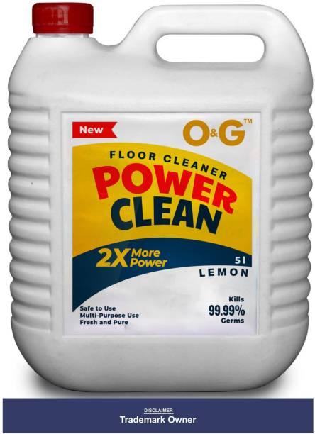 O&G Disinfectant Floor Cleaner Lemon Lemon